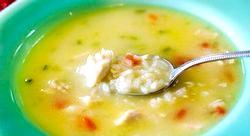 Суп з курки з рисом