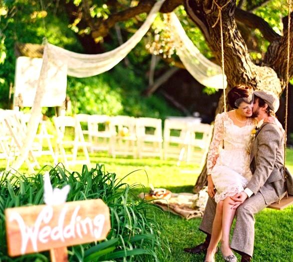 Весілля в еко-стилі