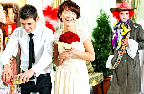 Весілля в стилі фентазі фото