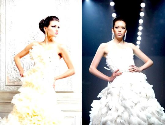 Весільні сукні для повних дівчат фото