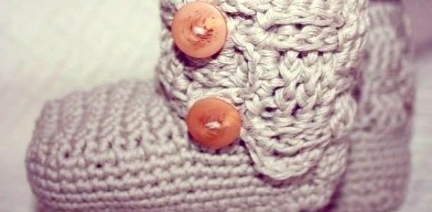 Теплі і милі пінетки для новонароджених (ФОТО)