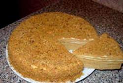 Торт Медовий фото