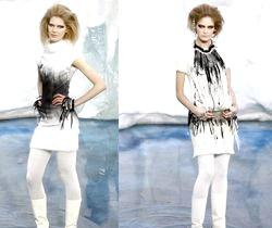 Трикотажні сукні 2011. Модні Тенденції