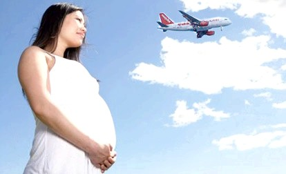 Авіаперельоти під час вагітності фото