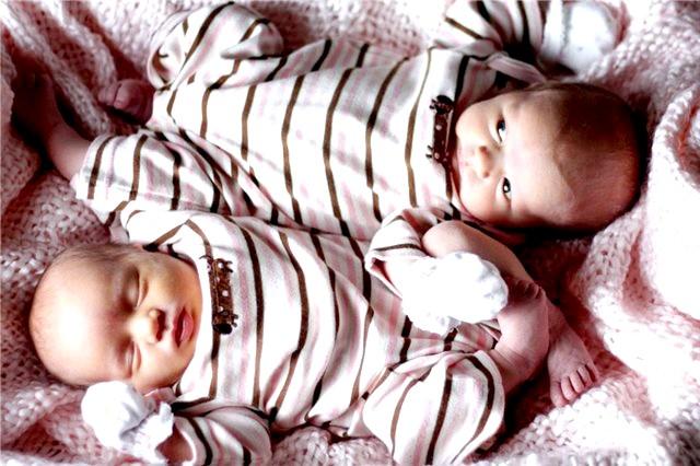 Вагітність близнюками по тижнях