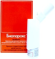 Біопарокс при вагітності