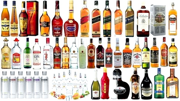 алкогольні напої на новий рік