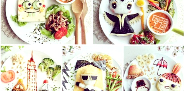 ФОТОпозітів: дитячі картинки з їжі