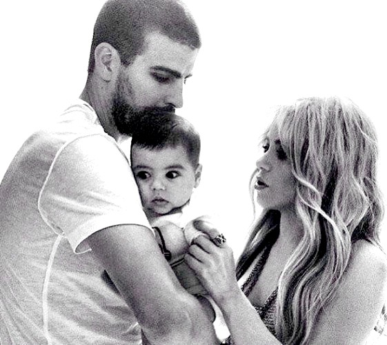 Шакіра і Піке опублікували перше фото сина