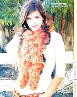 Схеми в'язання шарфів