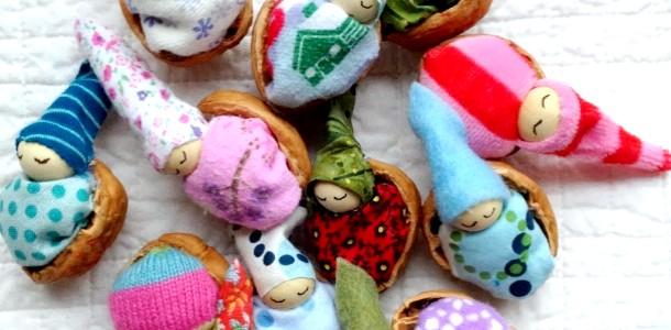 Школа DIY: лялечки з волоських горіхів