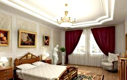 Стилі інтер'єру спальні