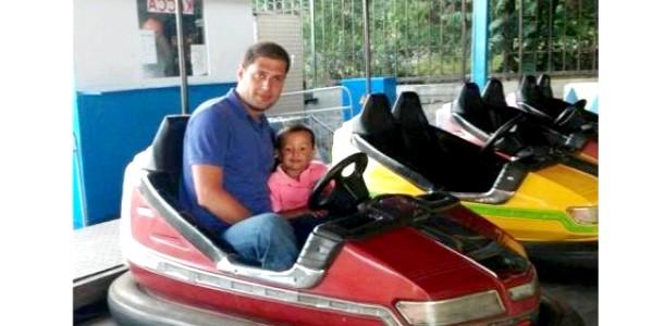 Син Яни Клочкової відпочив у Криму разом з татом (ФОТО)
