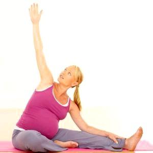 Вправи для вагітних