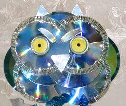 Що можна сделать з дисків? Покрокові майстер-класи та фото фото
