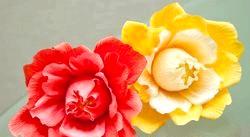 Квіти з гофровані паперу