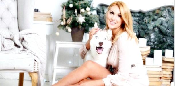 Яна Клочкова влаштувала новорічну фотосесію з сином (ФОТО)
