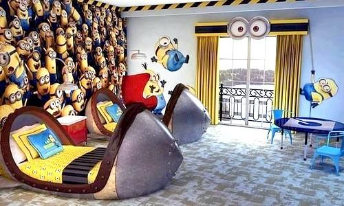 Яскраві дитячі ліжка (ФОТО)