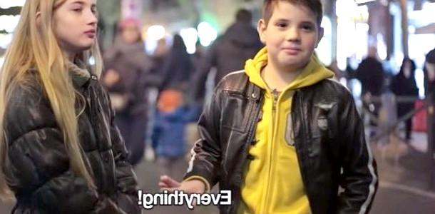 Експеримент: хлопців віком від 7 до 11 років попросили дати ляпас дівчині