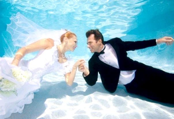 весілля під водою