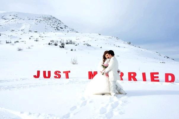 весілля на гірськолижному курорті
