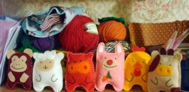 Школа DIY для батьків: іграшки з фетру