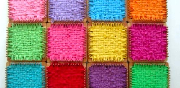 Школа DIY: ткацький верстат із сірникової коробочки фото