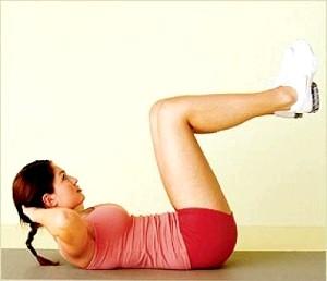 Вправи для живота після пологів фото