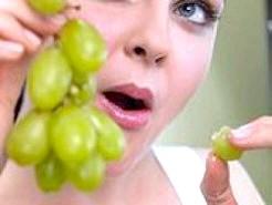 виноград під час вагітності