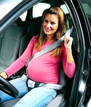 Водіння автомобіля і вагітність